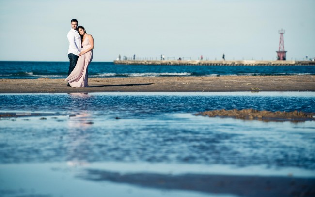 Chicago-Lake-Michigan-Engagement