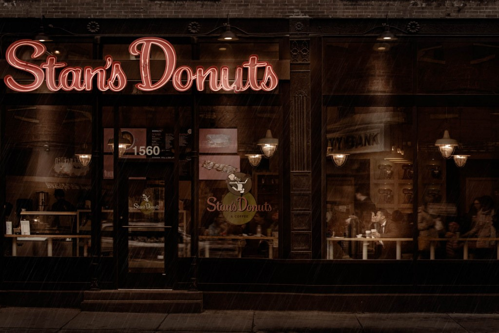 Stans Donuts Engagement
