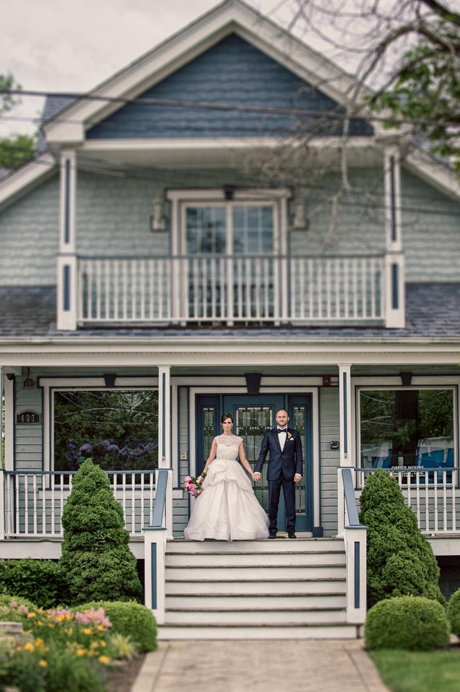 Tilt shift wedding portrait Long Grove
