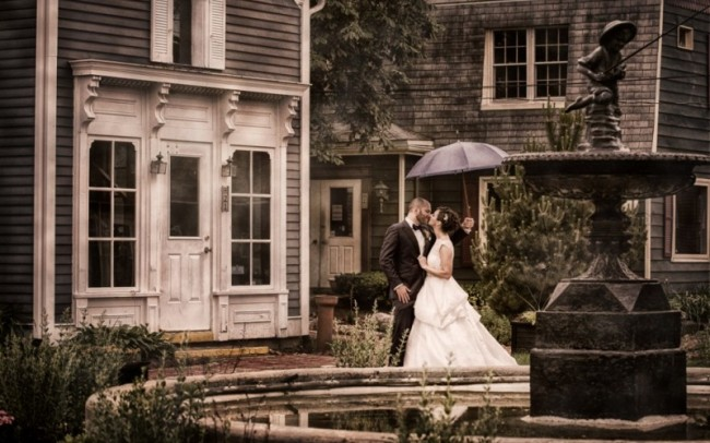 Long Grove Wedding Portrait