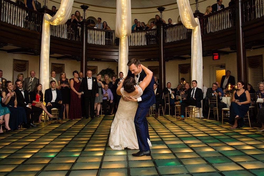 Hotel Baker wedding first dance