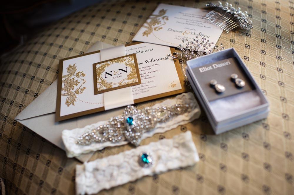 Wedding details at Congress Hotel