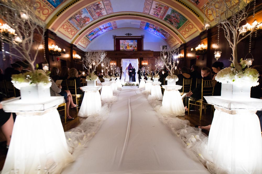 Ceremony at Congress Hotel Chicago
