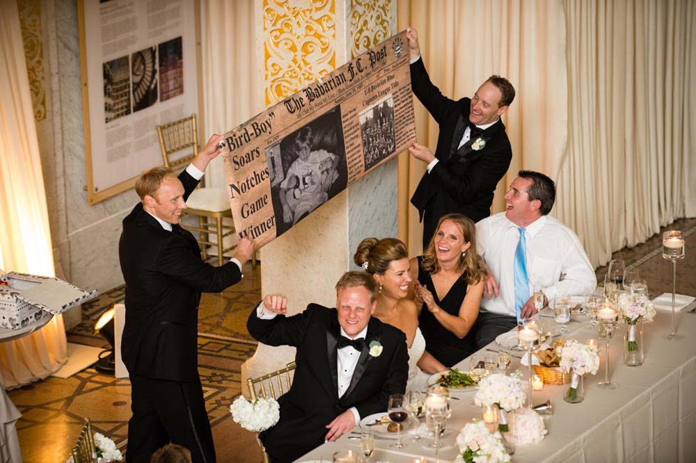 The Rookery wedding toast