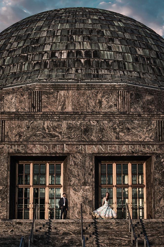 Adler Planetarium engagement