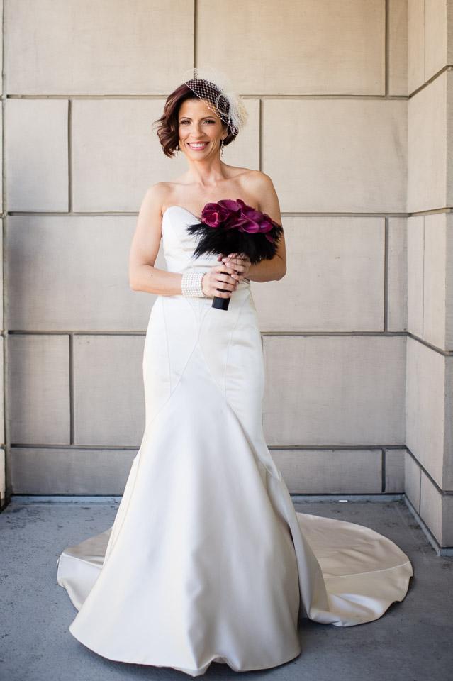 Bridal portrait at the Waldorf Astoria Chicago