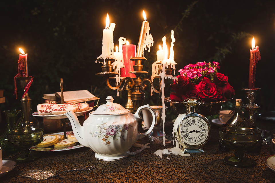 Props for Alice in Wonderland Engagement Session