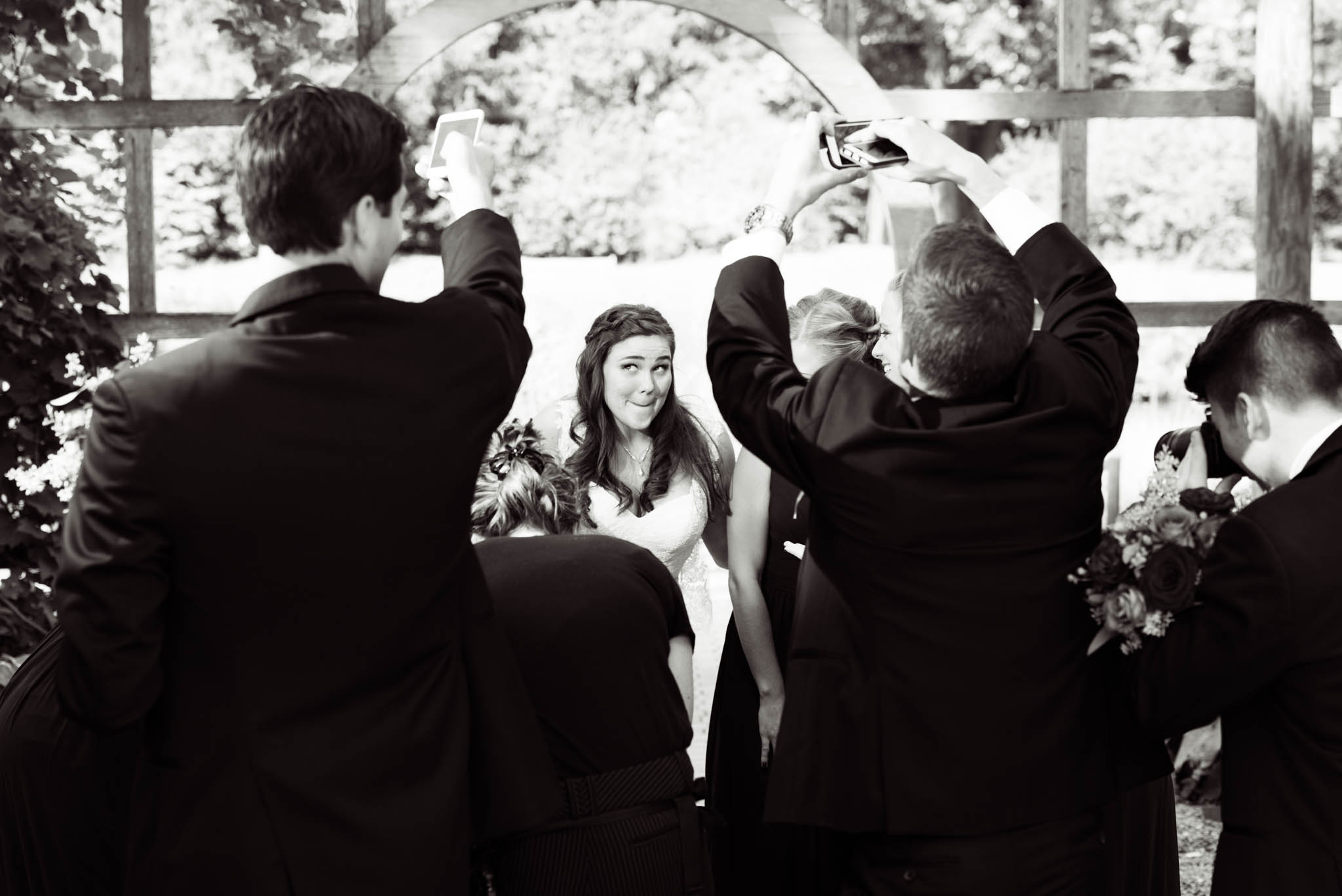Behind the scenes wedding at Cantigny Park