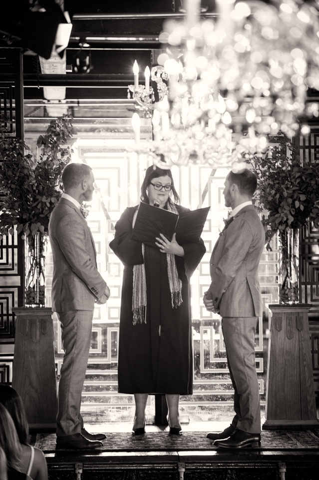 Salvage One same sex wedding ceremony
