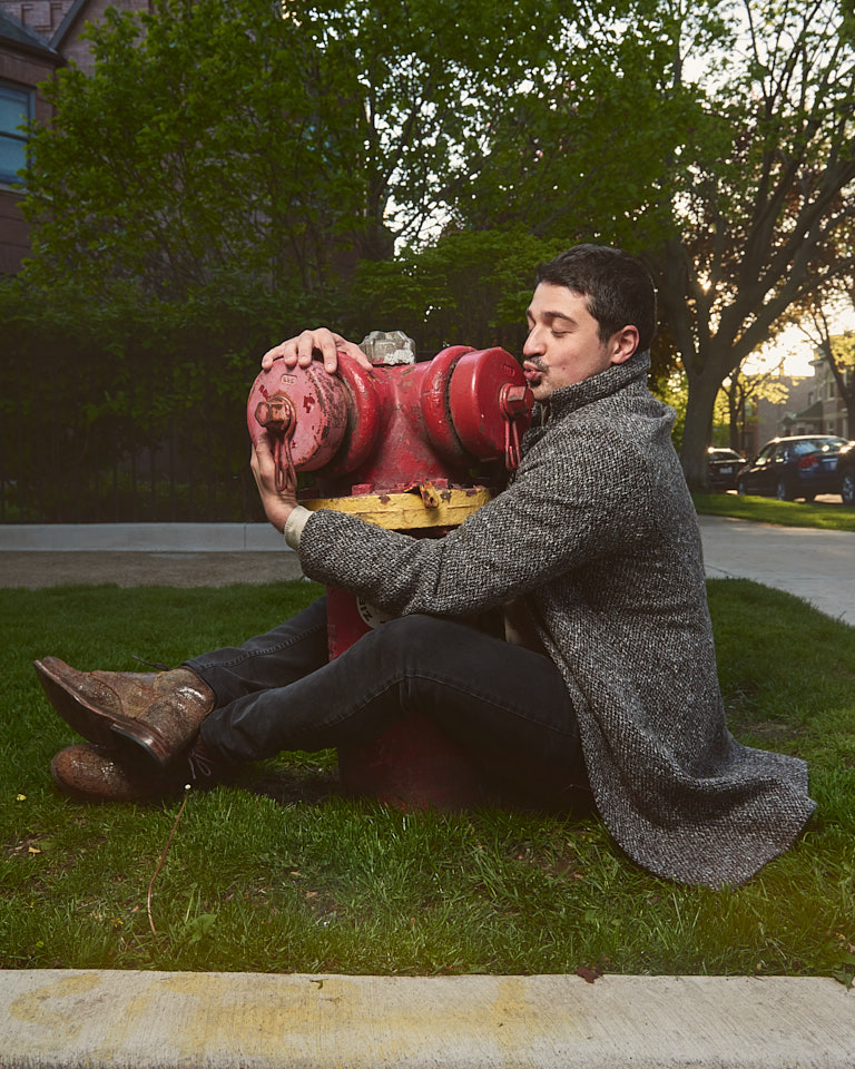 Fire hydrant love with Yuri Sardarov