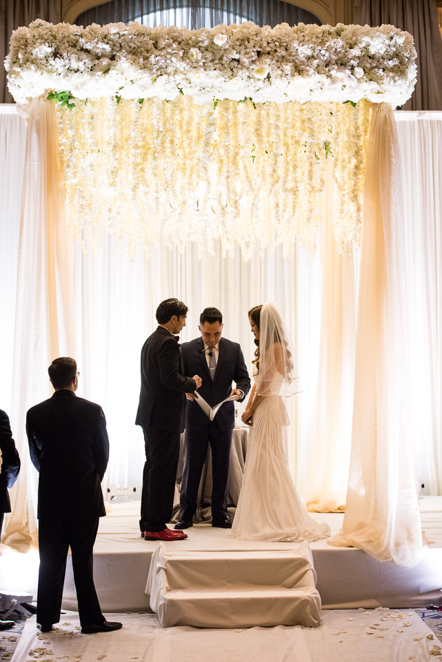 Korean wedding ceremony at Drake Hotel