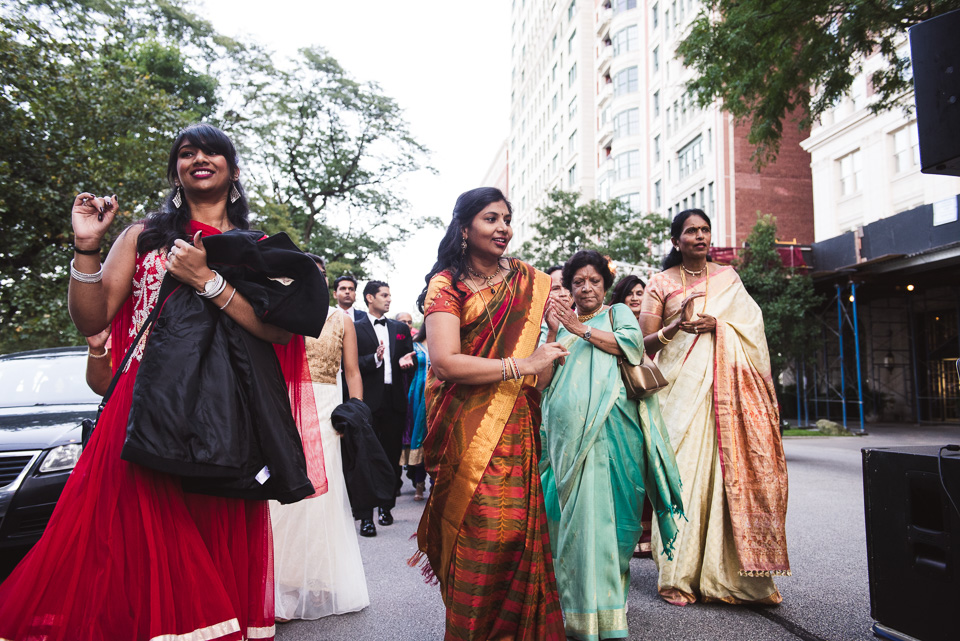 Chicago baraat at Drake Hotel