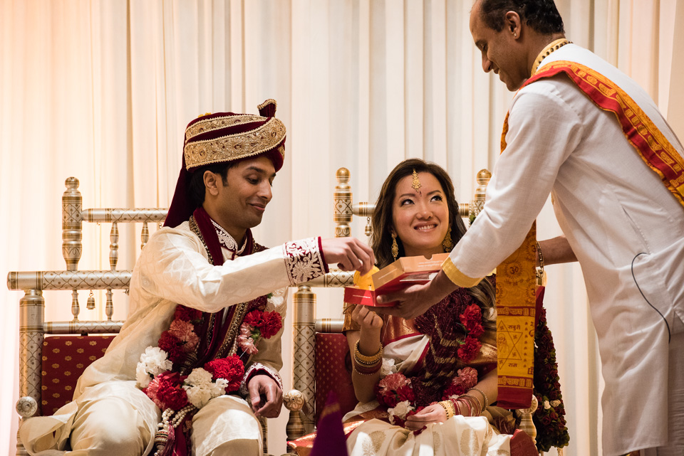 Indian wedding ceremony at The Drake Hotel Chicago