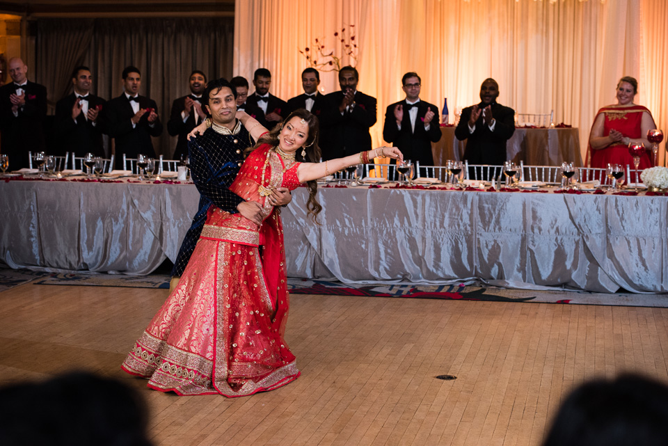 Indian wedding first dance