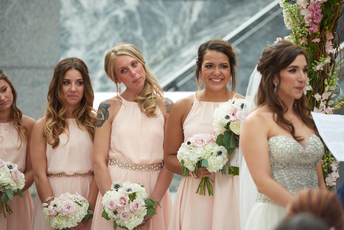 Pazzo's 311 wedding bridesmaids
