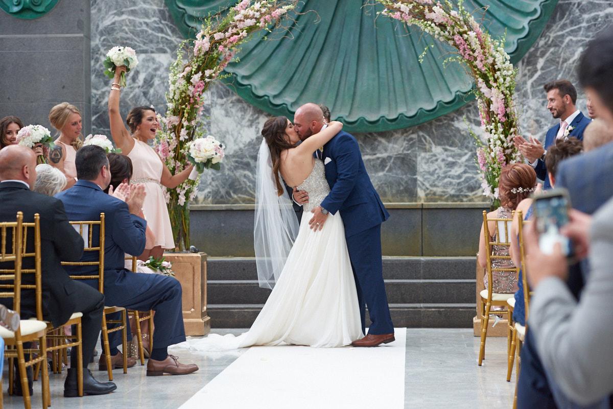 Pazzo's 311 wedding ceremony