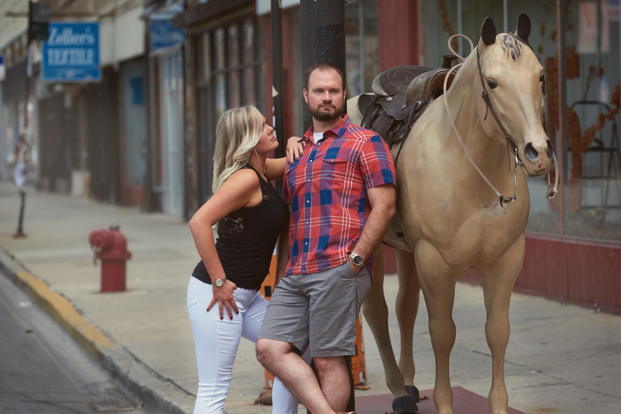 Aclalas Western Wear fake horse