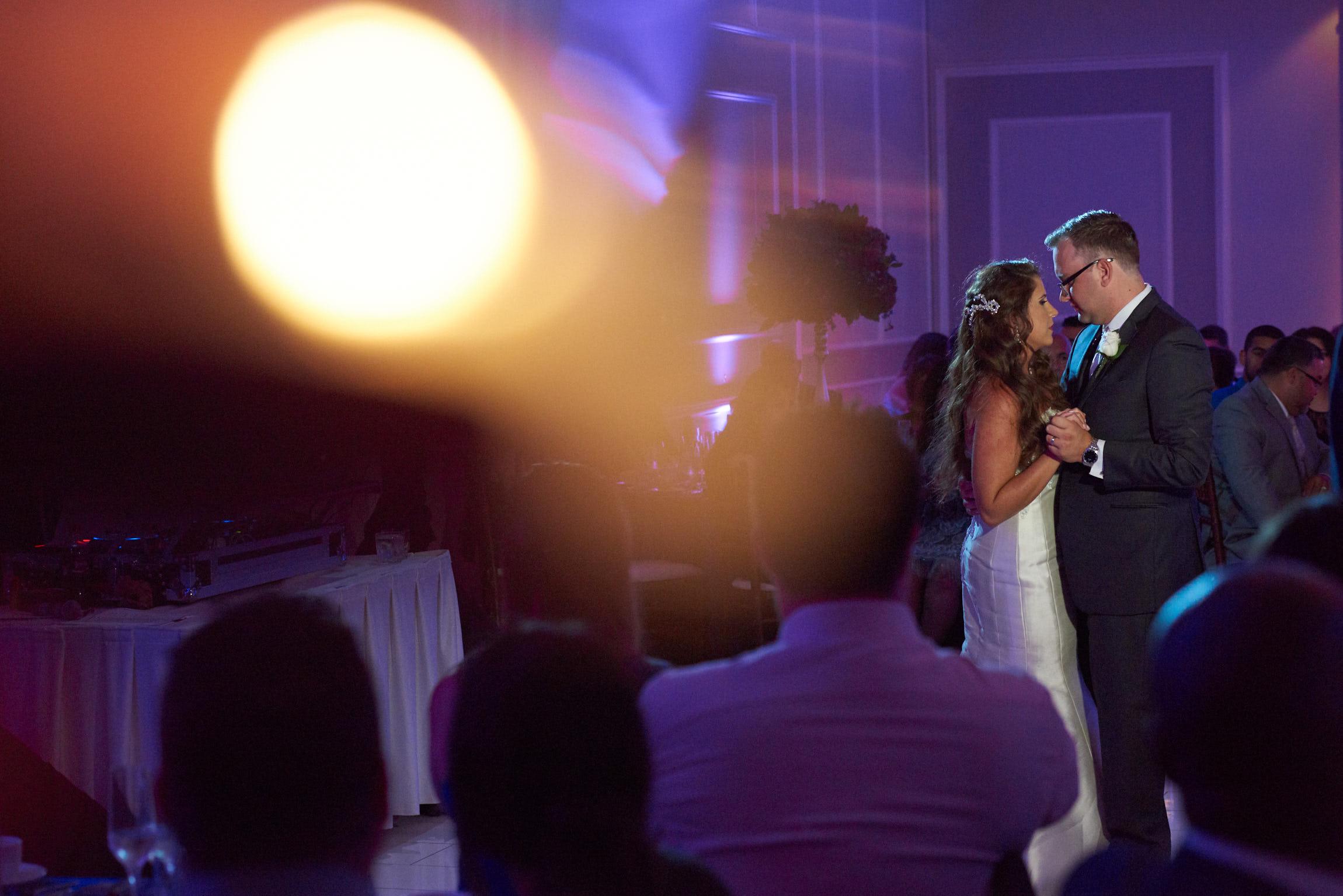 Wedding first dance at Cotillion Banquets