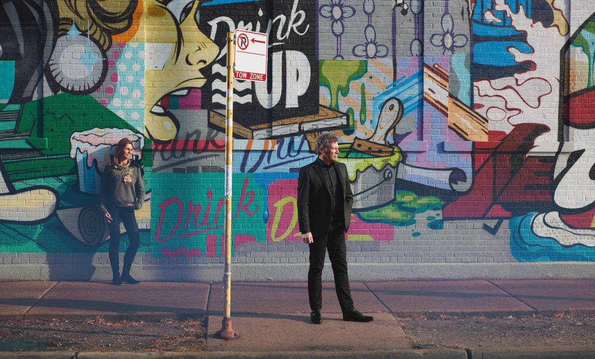 Fulton Market graffiti engagement session