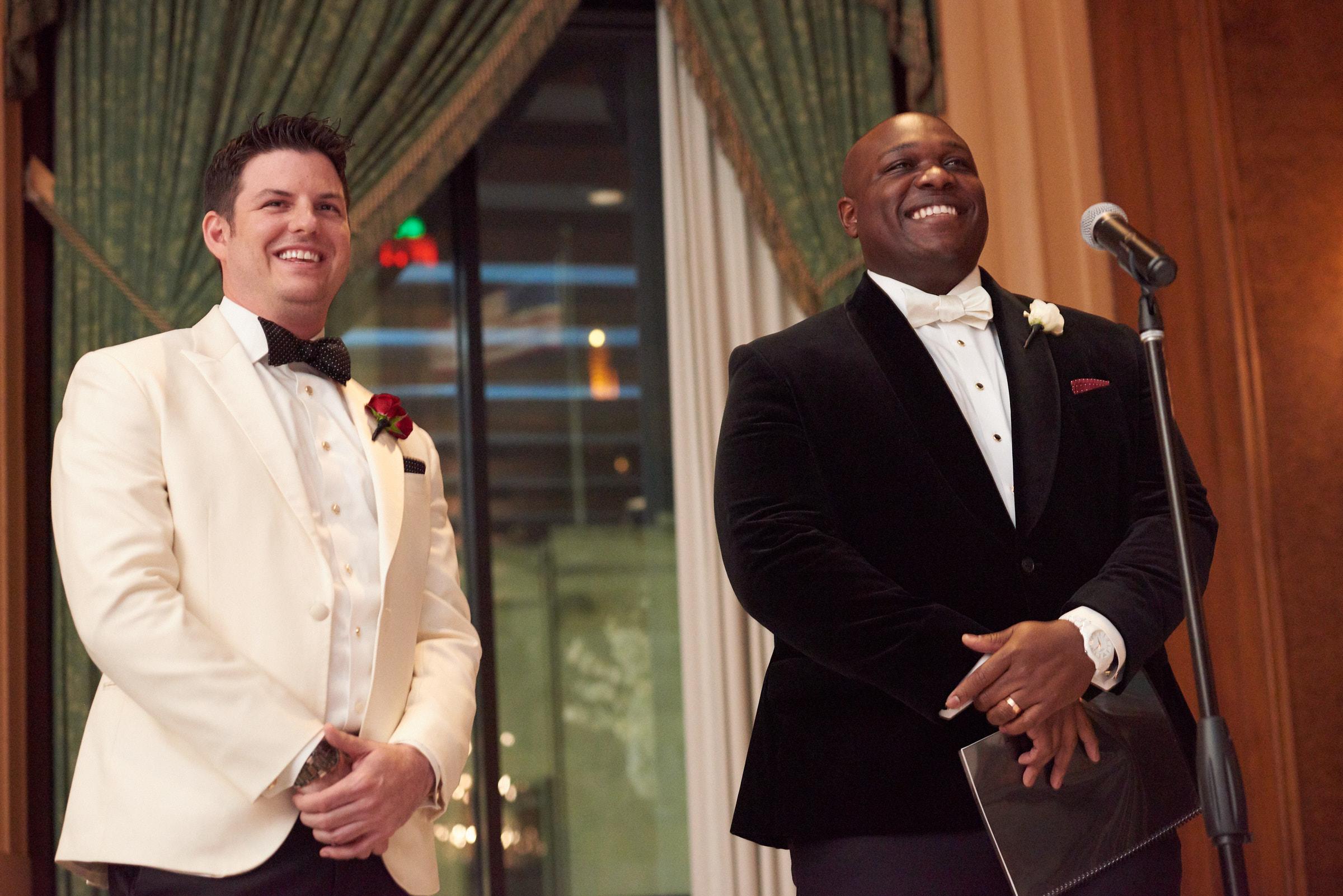 Wedding ceremony at Intercontinental Hotel Chicago