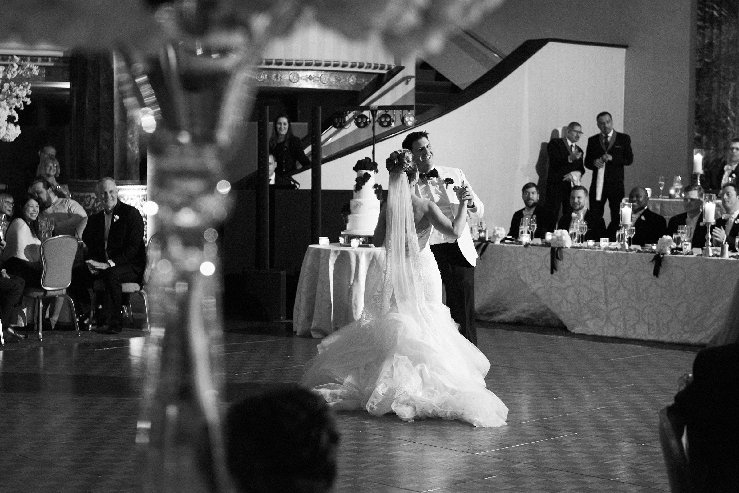 First wedding dance at Intercontinental Hotel Chicago